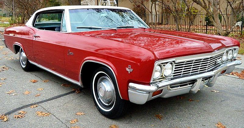 1966 Chevrolet Caprice Custom 2 Door Hardtop 327 V8 With Powerglide Chevrolet Caprice Classic Cars Chevrolet
