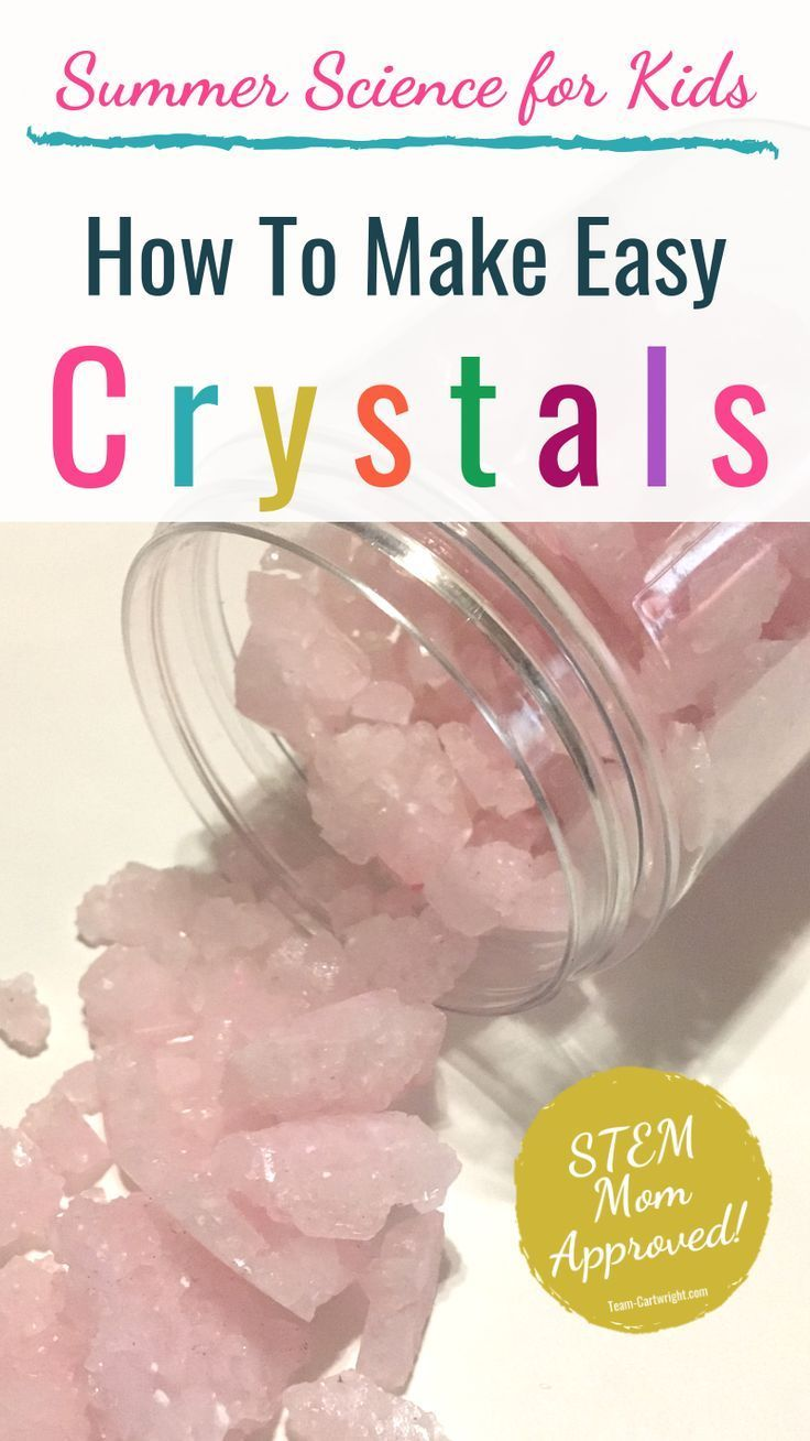 Growing Crystals for Kids: Create Your Own Jewels! - Team Cartwright
