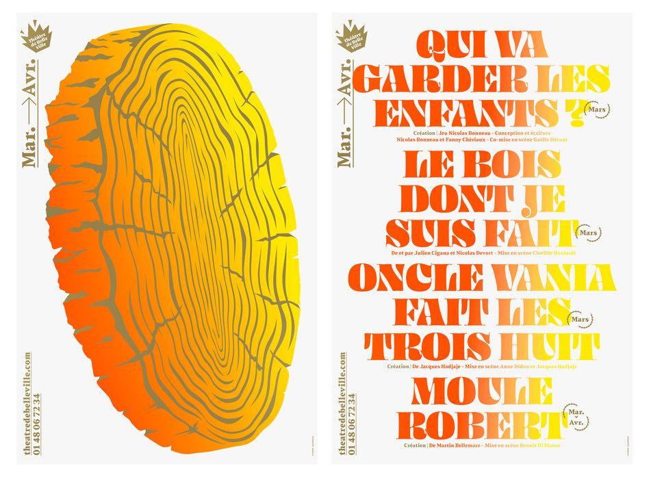 Atelier 22 Pierre Jeanneau Typographic Poster Fashion Graphic Design Interactive Design