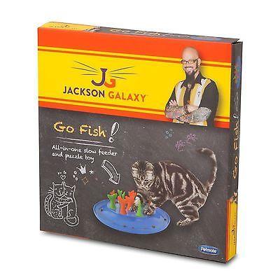 Petmate Jackson Galaxy Go Fish Cat Toy Petmate