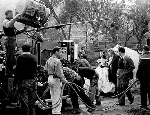 Vivien Leigh and Thomas Mitchell in Gone with the Wind (1939)