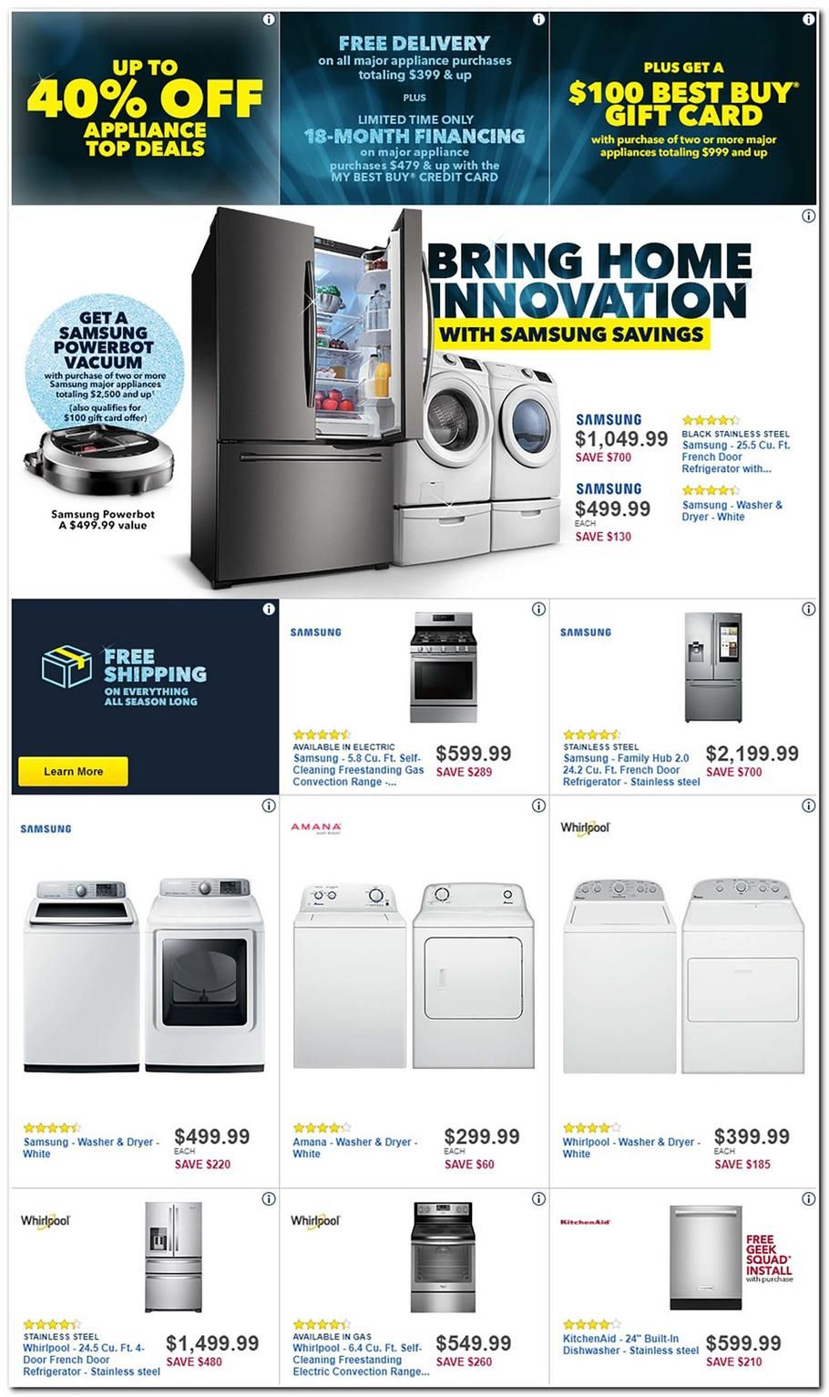 Black Friday Top Deals Best Buy Black Friday 2017 Ad Scan Deals And Sales Best Buy S