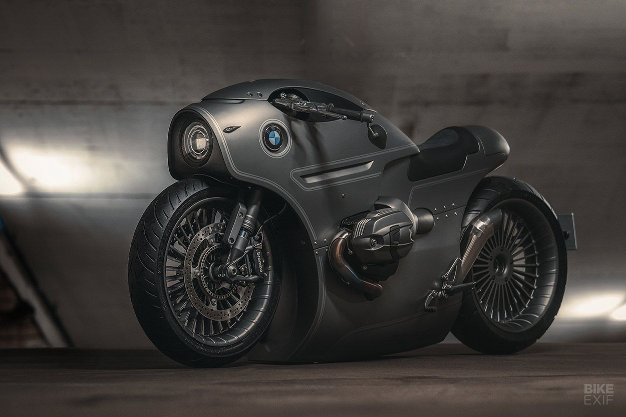Now That S Slammed An R Ninet From Zillers Garage Custom Bmw