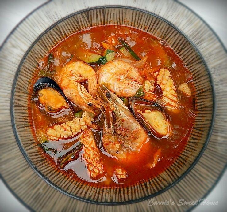 중국집 짬뽕도 울고가는 맛 짬뽕국물 만들기 요리법 음식 요리법 요리 식품 아이디어