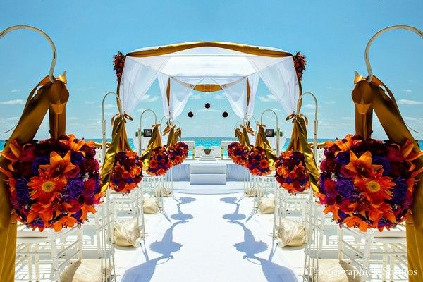 Cancun Mexico Destination Indian Wedding By Photographick Studios