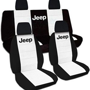 Two Tone Seat Covers For Jk Jeep Full Set 21 Colors Available