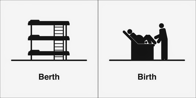 Homophones, Weakly: Berth & Birth   teacher's toolbox