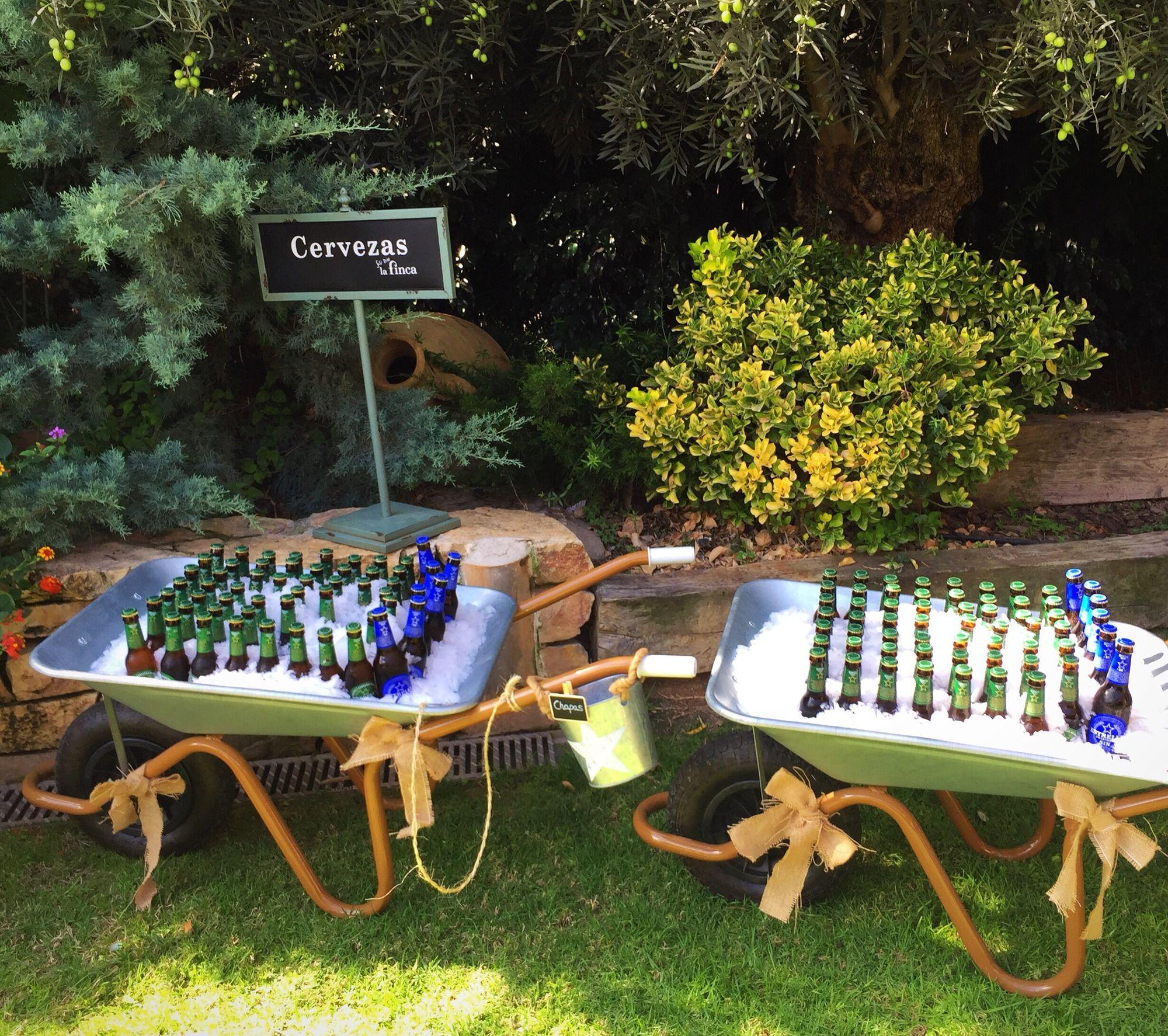Carretilla De Cervezas Bodas Nuestros Eventos Pinterest Wedding
