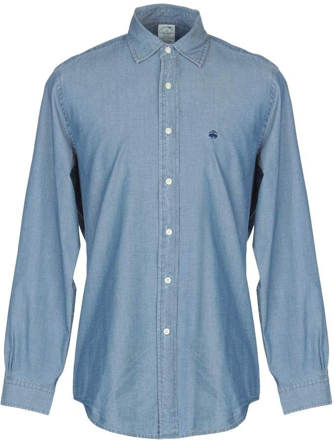 c2376494 Brooks Brothers Denim shirts | Products | Denim shirt men, Denim ...