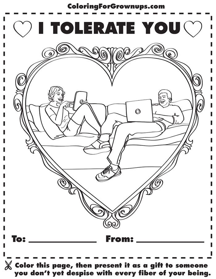 coloring book for grown ups draw who you thought youd be - Coloring Books For Grown Ups