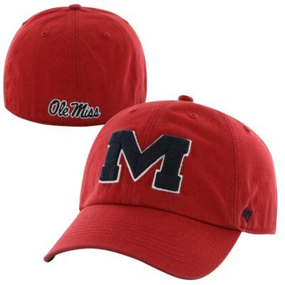 836c11a37d6b5  47 Brand Mississippi Rebels Ole Miss Rebels Fitted Hat.