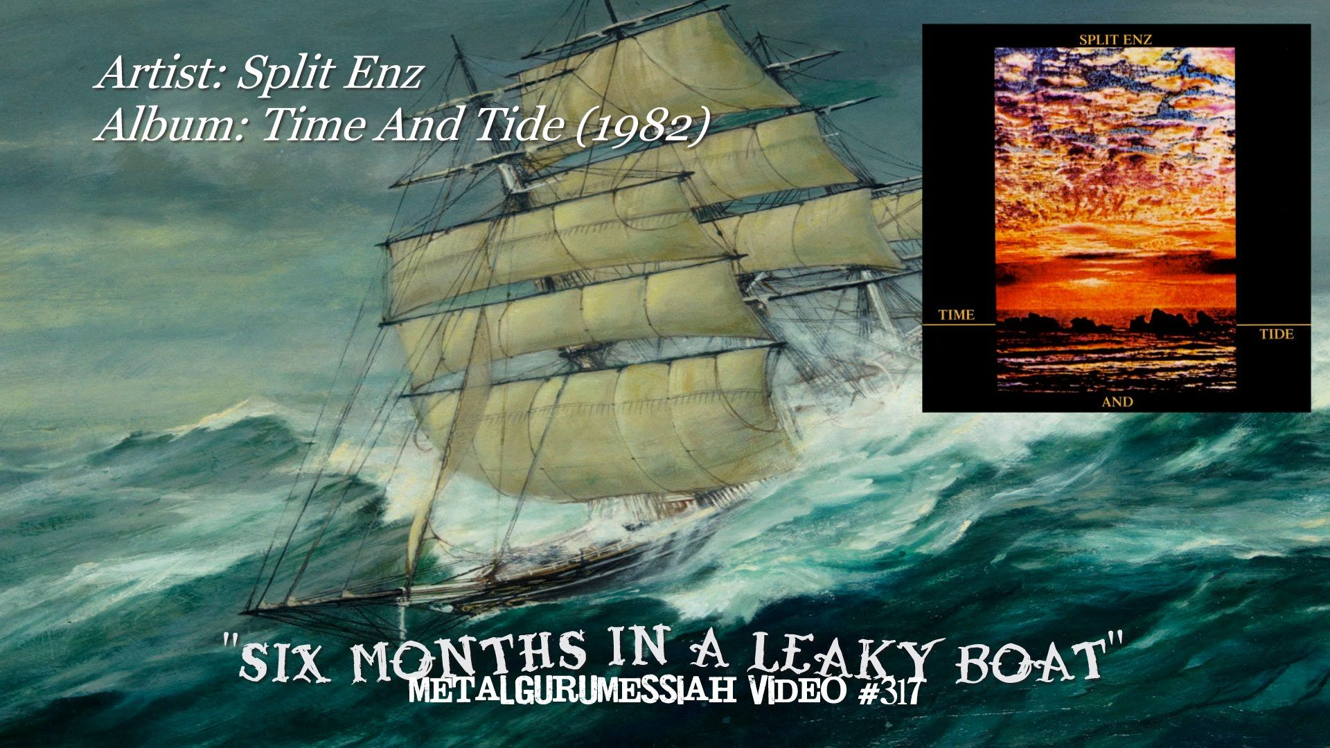 Six Months In A Leaky Boat - Split Enz (1982) HQ FLAC Remaster HD Video