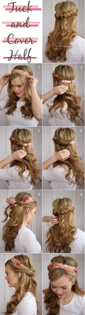 Looking for a quick style to get you out the door and on with your life & Hairstyles For College Girls