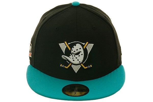 9f76be2ef2d39c 2Tone Anaheim Mighty Ducks Fitted Hat by New Era | TEAM HATS | Hats ...