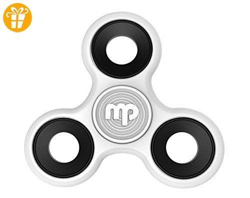 MUPATER Fidget Toys Hand Spinner Finger Spielzeug für Kinder und Erwachsene Spielzeug Geschenke, Weiß - Fidget spinner (*Partner-Link)