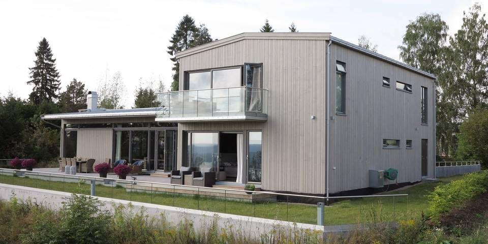 Bygde drømmehuset på drømmetomten. Sjekk resultatet! #klikk.no