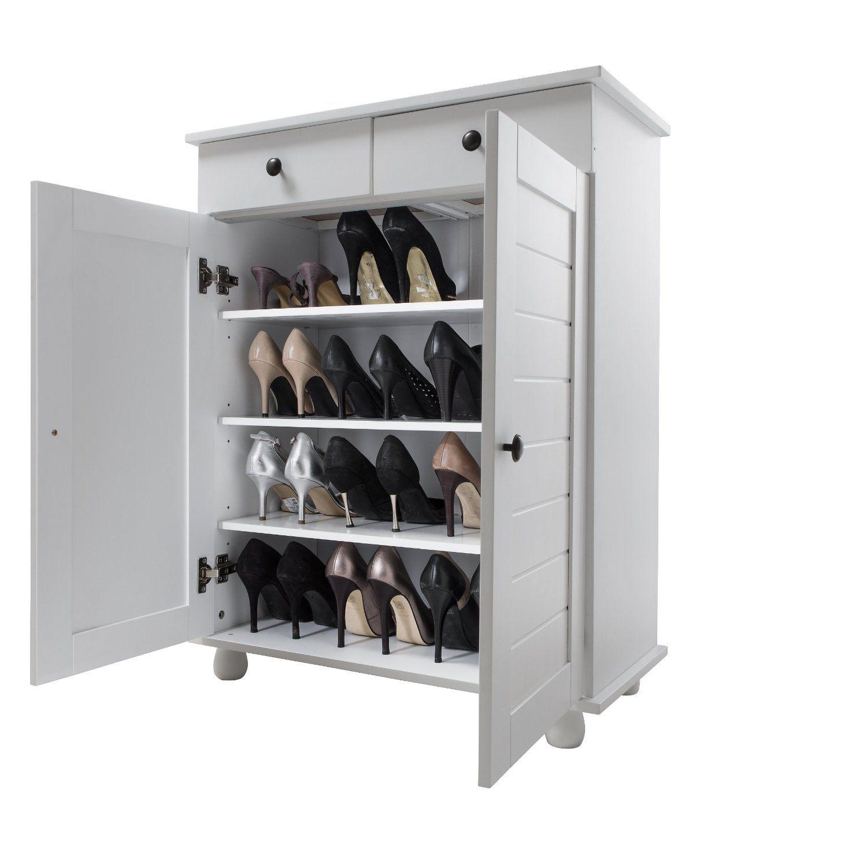 Shoe Storage Cabinet Deluxe With Storage Drawer Heathfield In