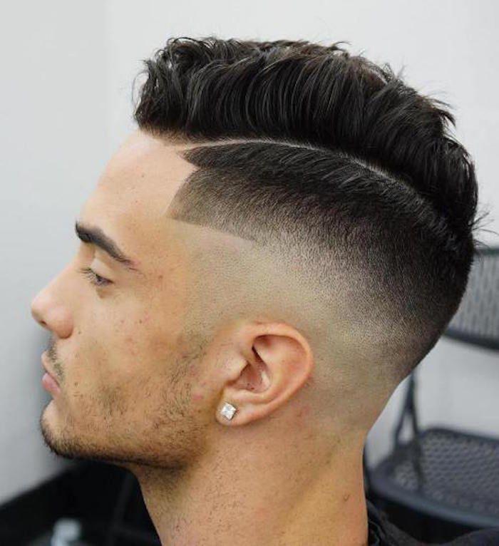 Tagli capelli uomo con disegni