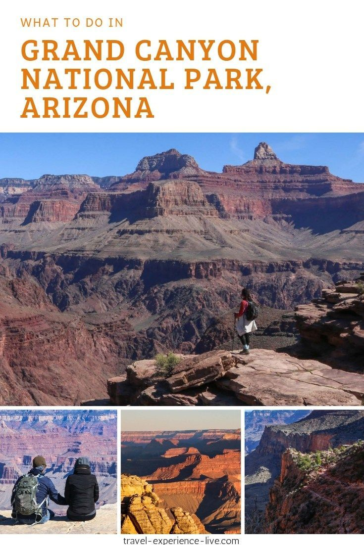 7 Things To Do In Grand Canyon National Park Hiking Usa