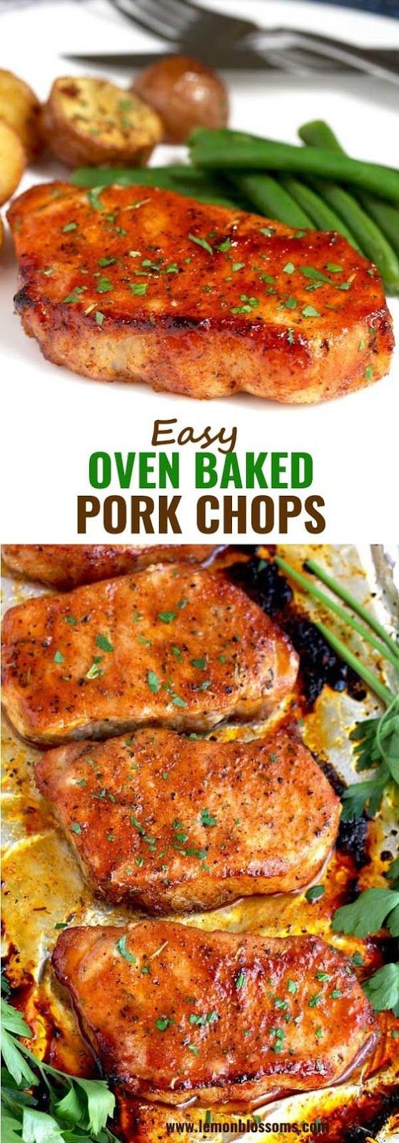 Photo of Easy Oven Baked Pork Chops | Yummy Recipes