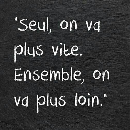 La Vie Ensemble Together Citation Amitie Belles Citations