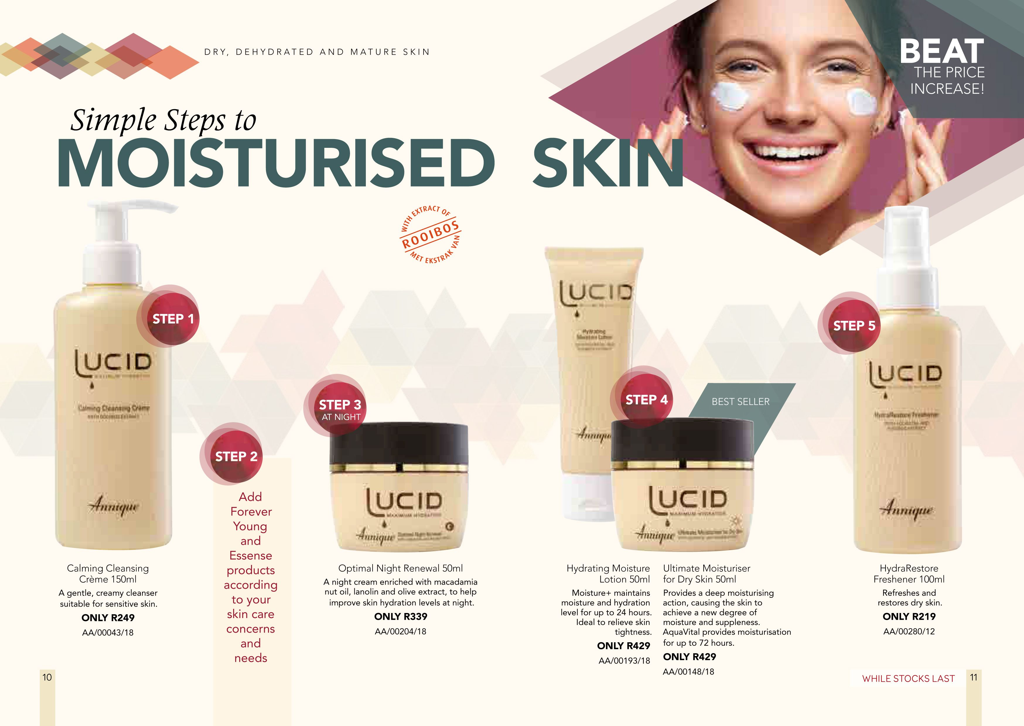 Purchase your favourite Annique Skin, Body and Health