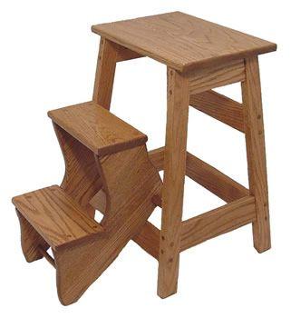 Wooden Folding Step Stool Plans