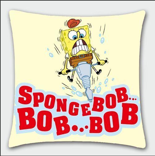 spongebob squarepants electricdrill pillow cushon soft anime gift