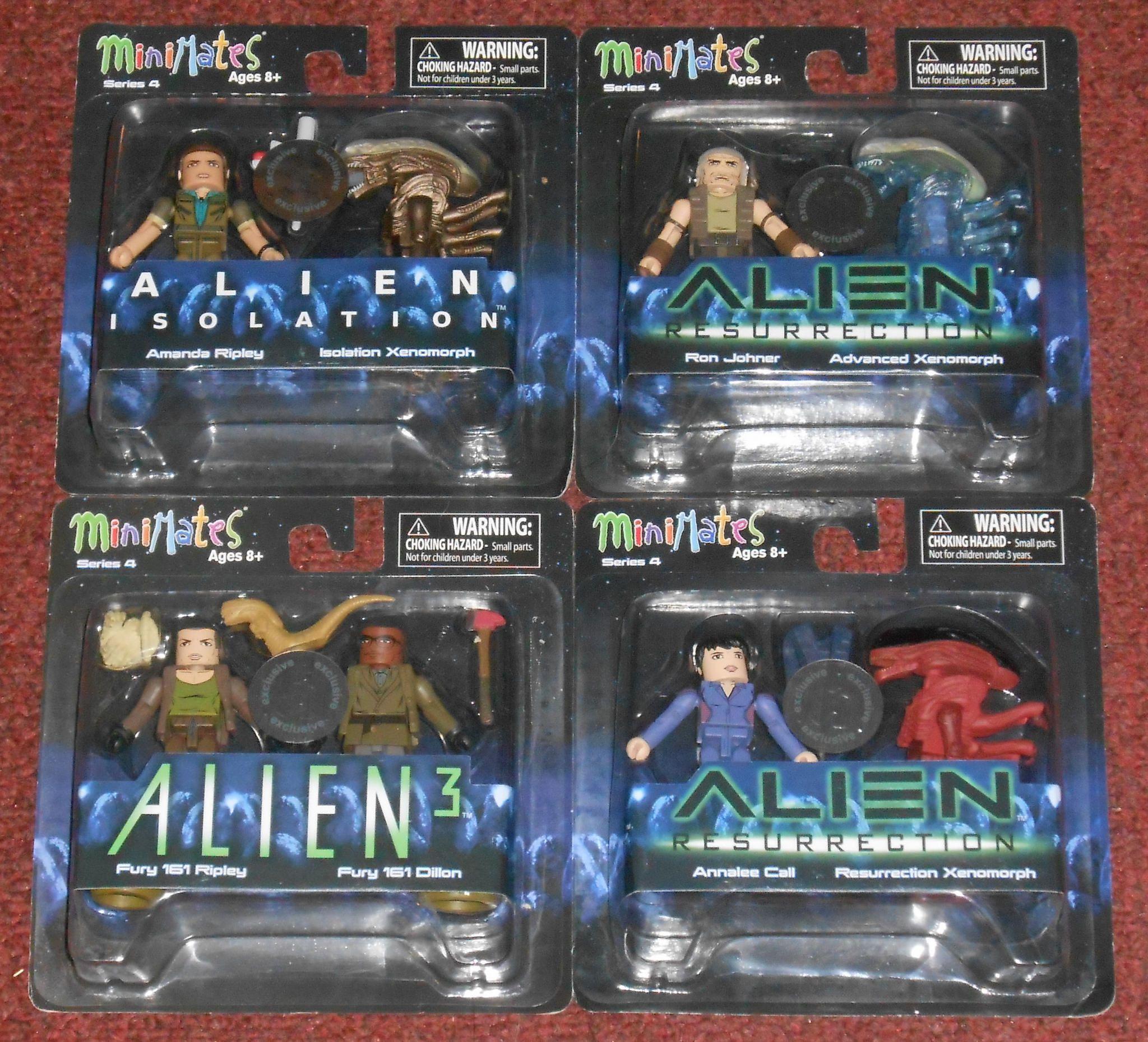 Aliens Minimates TRU Toys R Us Wave 4 Fury 161 Dillon