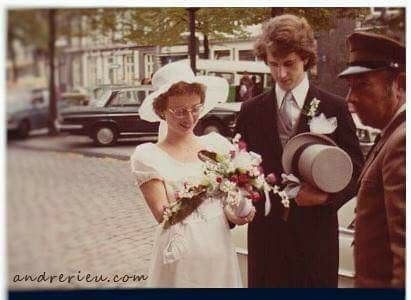 André Rieu & Marjorie on their wedding day | animals ...