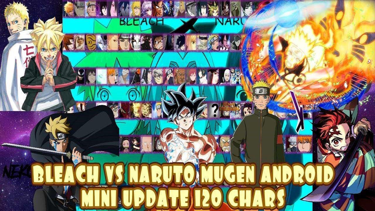 BLEACH VS NARUTO 3.3 MOD 120 CHARACTERS MUGEN ANDROID