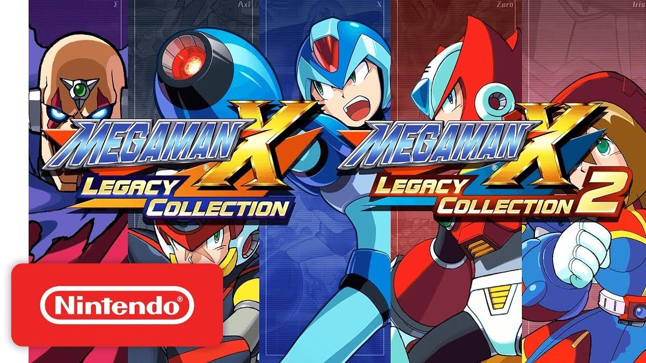 Mega Man X Legacy Collection 1 Amp 2 Announcement Trailer