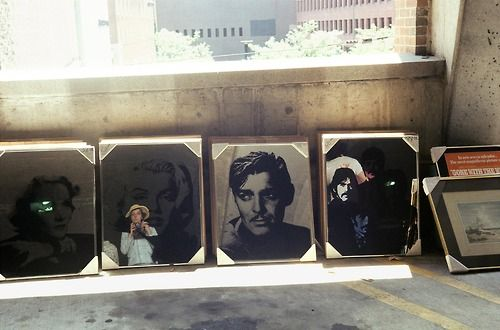 Vivian Maier took great selfies…