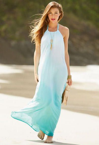 Elan Gauze Maxi Dress | Everything Turquoise | No trends ~ just me ...
