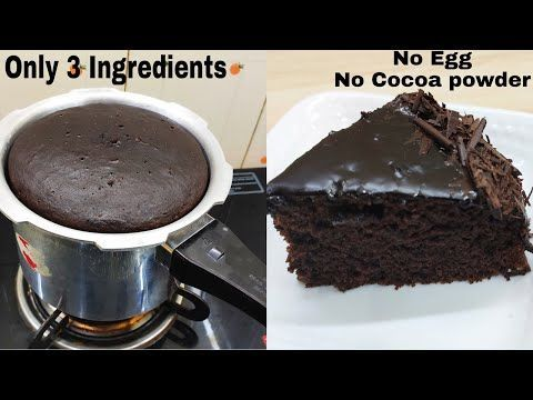 Desserts Without Eggs Cake in 2020 | Chocolate cake recipe ...