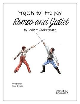 Projects for the play Romeo and Juliet by William