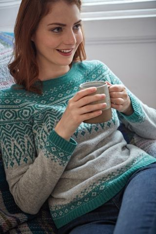 Trellis Jumper | Lambswool Fair Isle jumper | Seasalt | Ethical ...