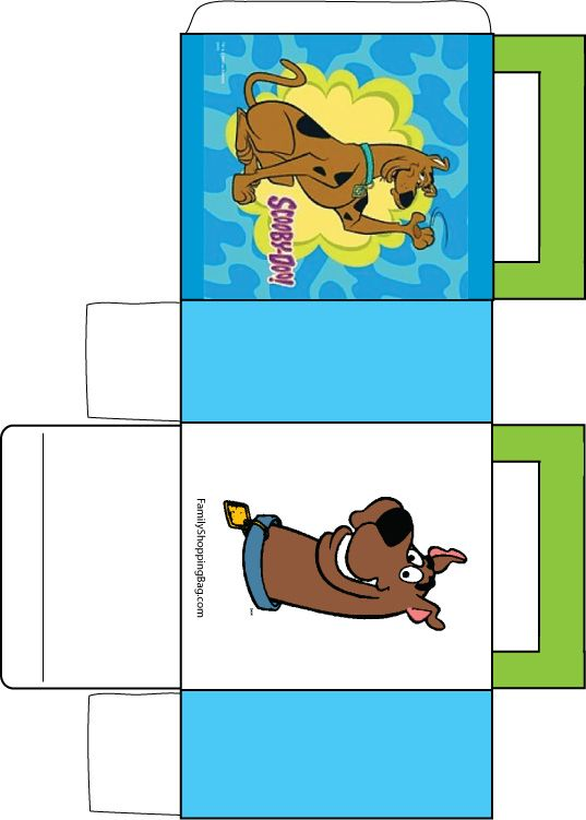 Scooby Doo box for partys Scooby doo where are u Pinterest