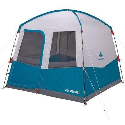 Aufenthaltszelt Base Mit Gestange Grosse M Zelten Camping Zelt Camping