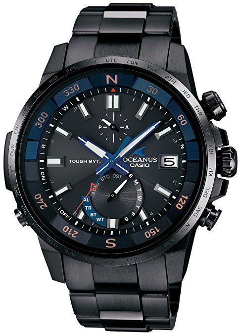 1e9db9b93f67 Casio Watch Oceanus Cachalot Compass Mounted Solar Radio OCW de P1000B de  1ajf Men