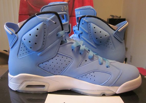 1be05c8546bd10 Air Jordan VI  Pantone  Sample - Available on eBay - SneakerNews.com ...