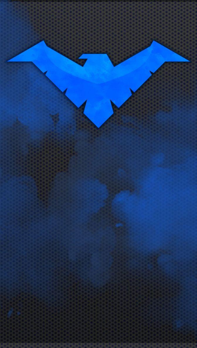 Nightwing Phone Wallpaper By Lumen Terra