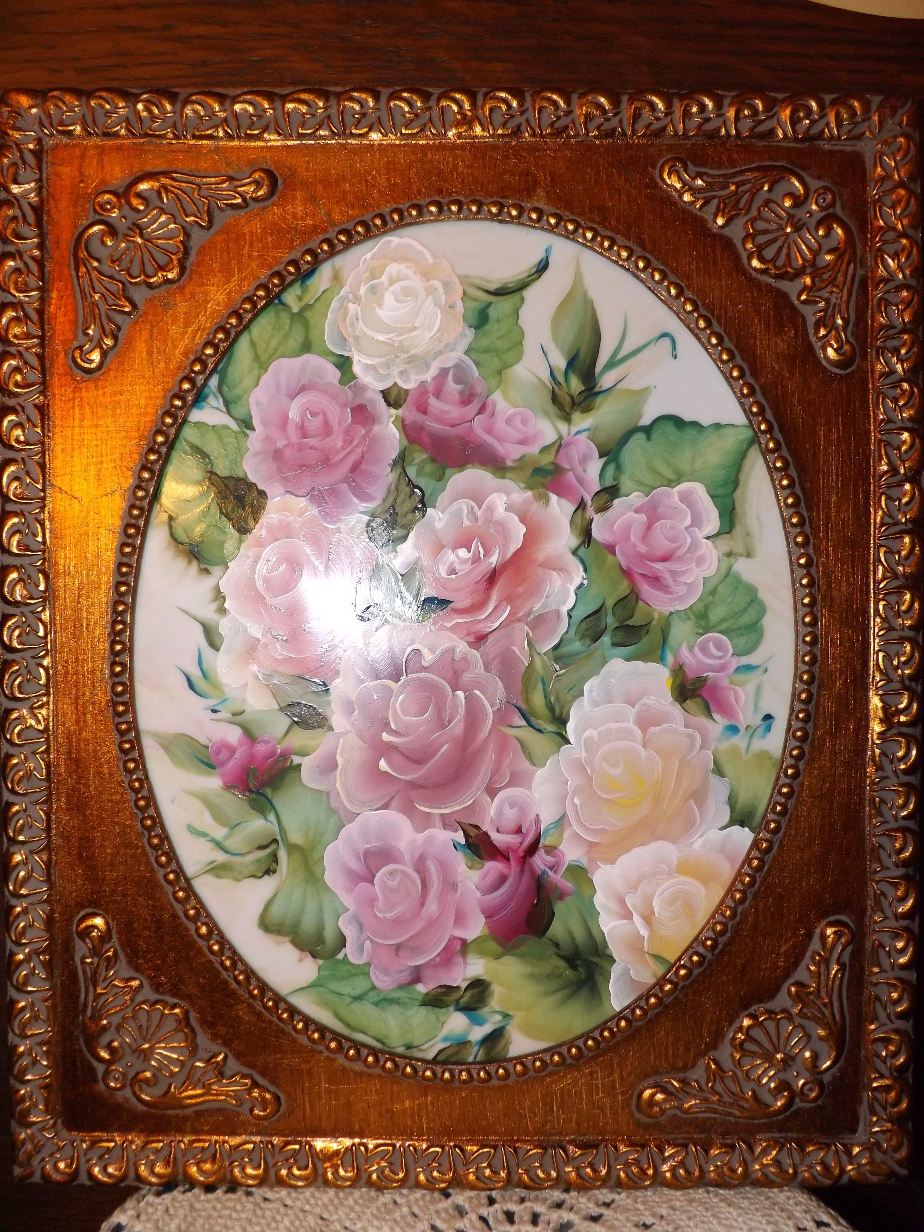 Acrylic Painting On Porcelain China China Porcelain