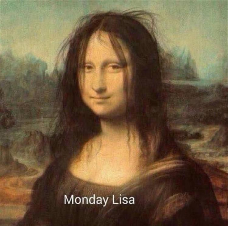 Mona Lisa Monday Lisa Bad Hair Day, Funny Pictures Of The Day   38 Pics