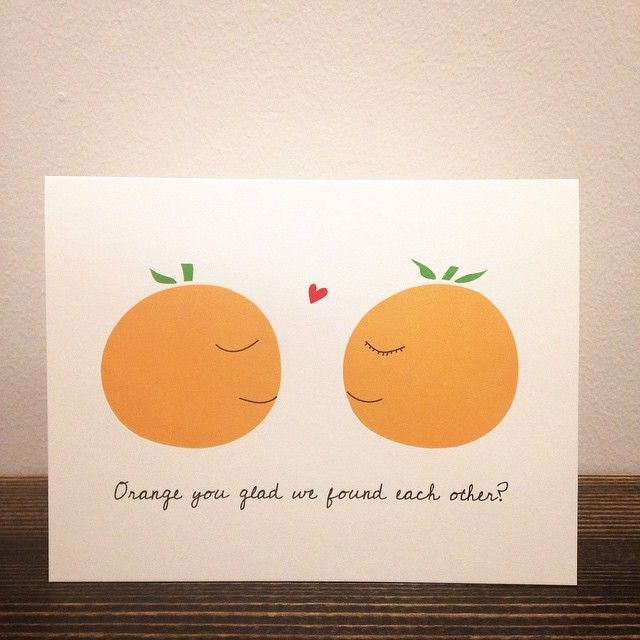 Everyone loves a good fruit joke!  #Cardoftheday