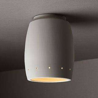 1 light perferated curved ceramic outdoor flush mount rentals 1 light perferated curved ceramic outdoor flush mount mozeypictures Images