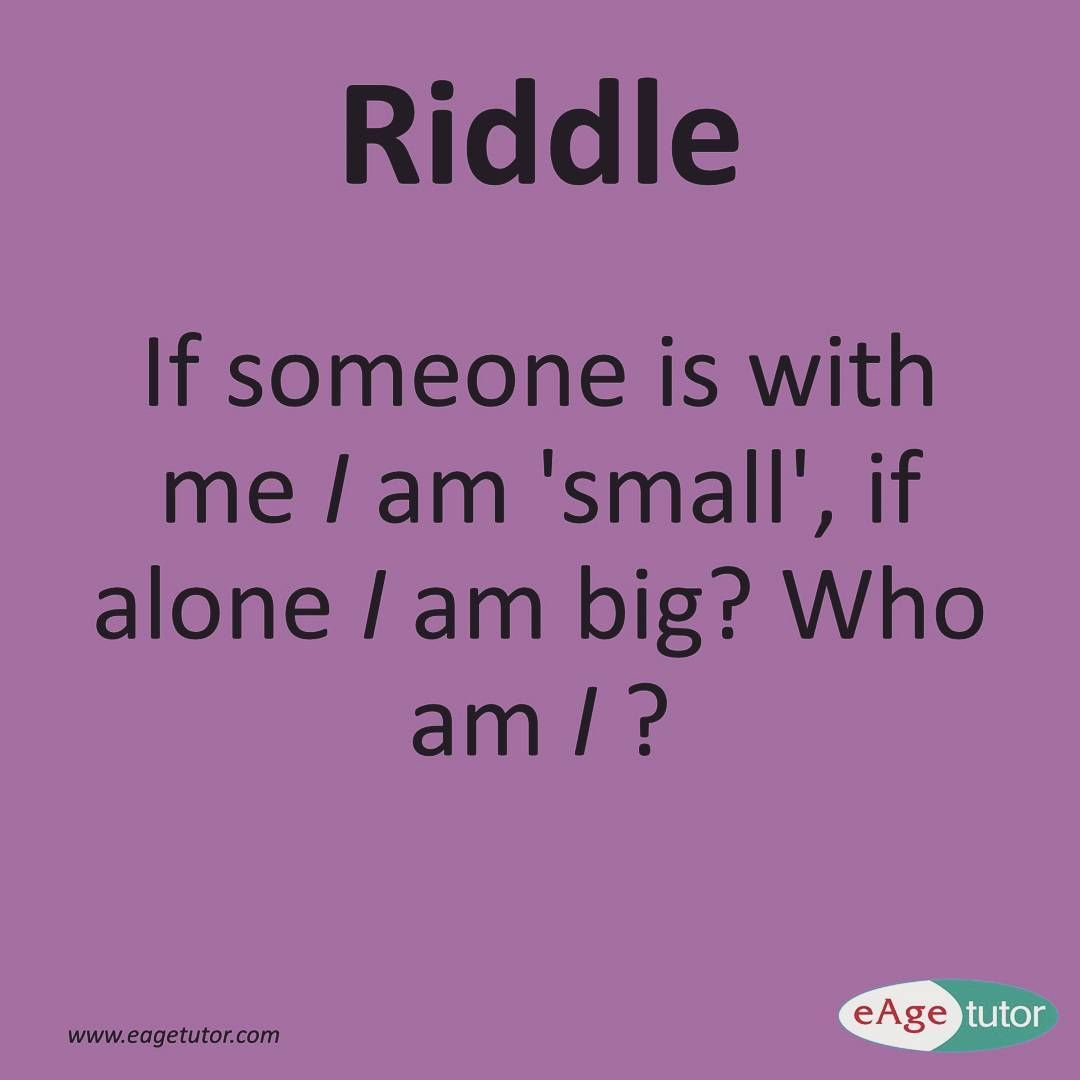 Its #puzzle time Can you solve this #riddle? Hint: Answer lies with