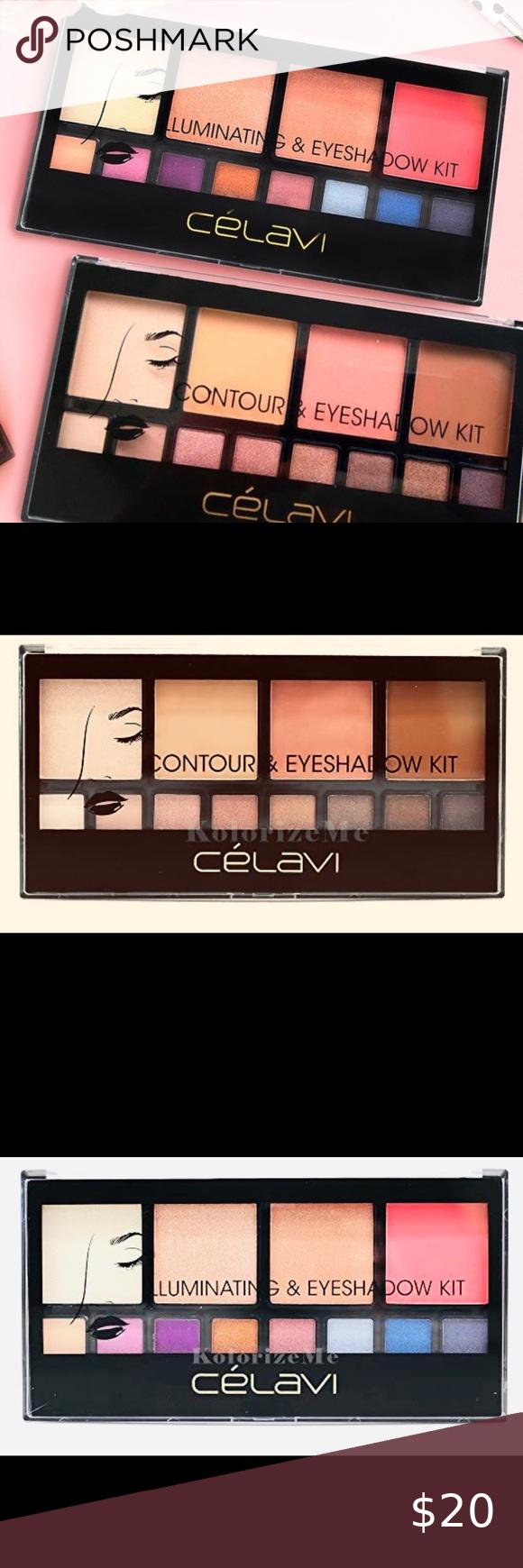 Contour Iluminating & Eyeshadow Makeup Kit! in 2020