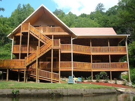 Godu0027s Blessing Riverfront Cabin, Near Pigeon Forge, Gatlinburg And  Sevierville. Fronts The Little