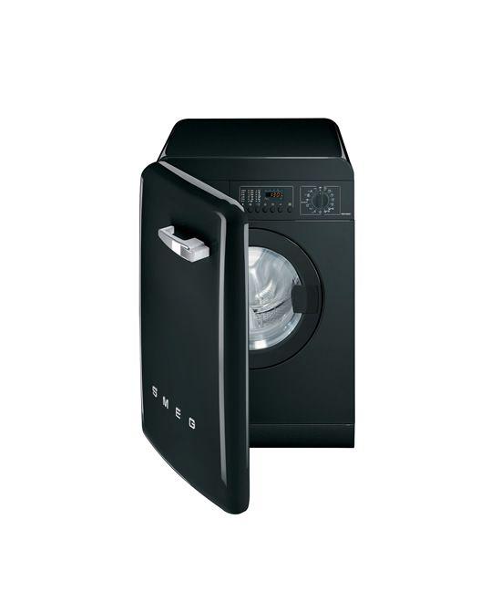 Washing Machine In Kitchen Design: Washing Machine WMFAB - Smeg 50's Style